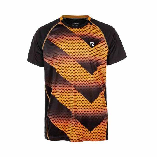 FZ Forza Monthy férfi tollaslabda, squash póló (narancssárga)