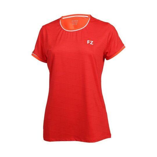 FZ Forza Hayle női tollaslabda, squash póló (piros)
