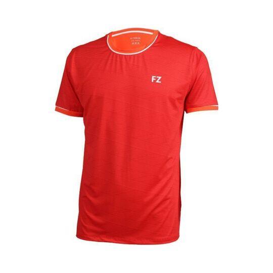 FZ Forza Haywood férfi tollaslabda, squash póló (piros)