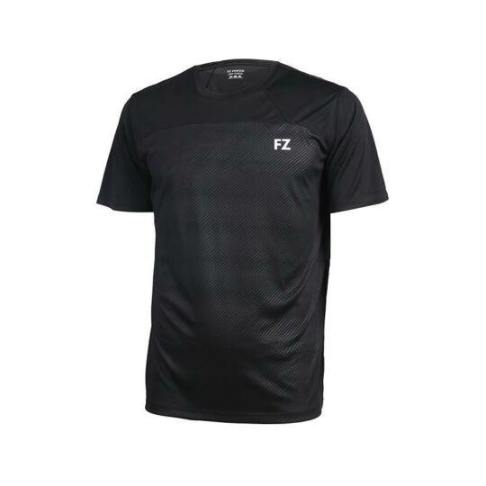 FZ Forza Helsinki Jr. gyerek tollaslabda, squash póló (fekete)