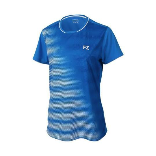 FZ Forza Hulda női tollaslabda, squash póló (kék)