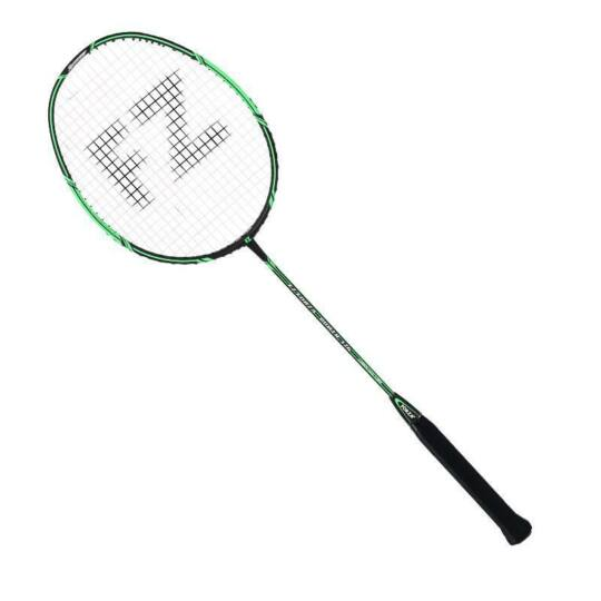 Max FZ Forza Power 376 Badminton//Squash Racket 3U-G5 Racket Cover Included Green 86 g Tension at 23-24 lbs Medium Balance with Flexible Shaft for All-Round Players Strung