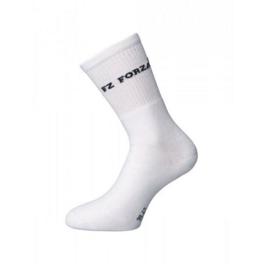FZ Forza Comfort Sock Long tollaslabda, squash sportzokni (fehér)