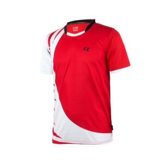FZ Forza Marc Jr. gyerek tollaslabda, squash póló (piros)