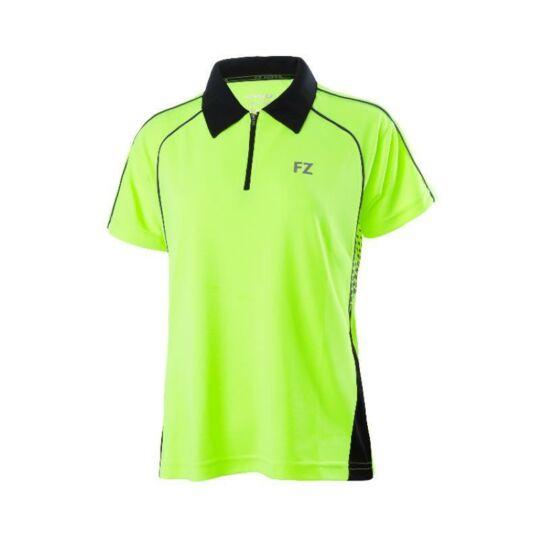 FZ Forza Maxime női tollaslabda, squash galléros póló (sárga)
