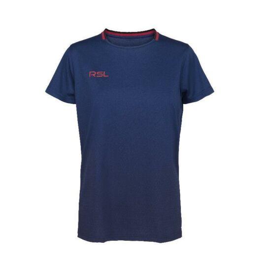 RSL Austin W női tollaslabda, squash póló (sötétkék)