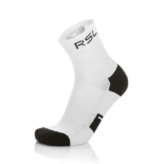 RSL tollaslabda, squash sportzokni - 1 pár (fehér-fekete)