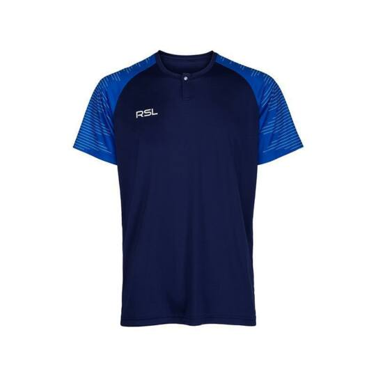 RSL Belfort férfi tollaslabda, squash póló (sötétkék)