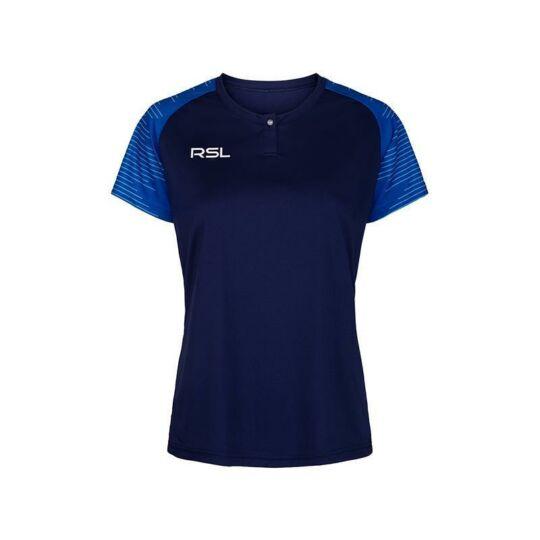 RSL Belfort W női tollaslabda, squash póló (sötétkék)