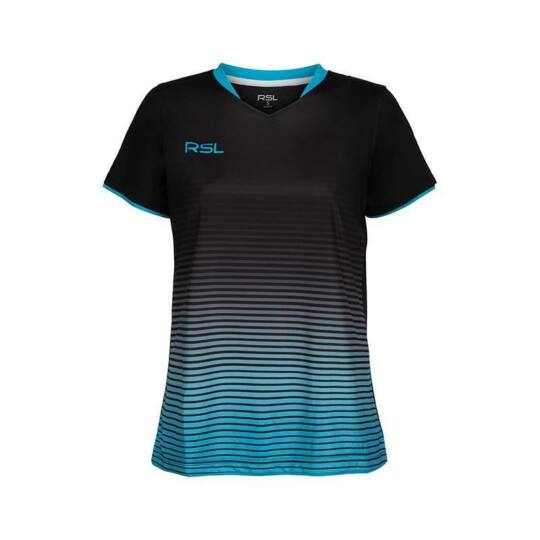 RSL Bergen W női tollaslabda, squash póló (kék)