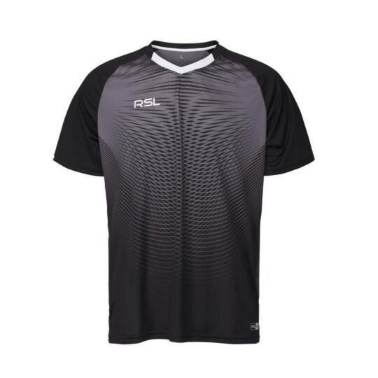 RSL Brooklyn férfi tollaslabda, squash póló (szürke)