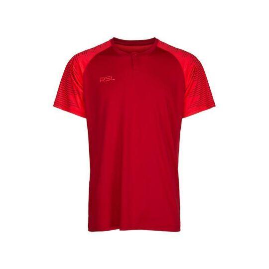 RSL Calvin férfi tollaslabda, squash póló (piros)