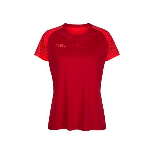 RSL Calvin W női tollaslabda, squash póló (piros)