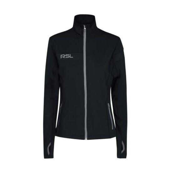 RSL Copenhagen W női tollaslabda, squash melegítő felső (fekete)