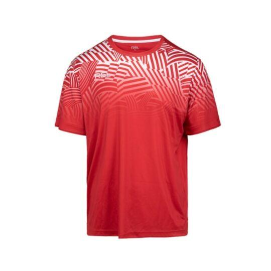 RSL Frigg férfi tollaslabda, squash póló (piros)