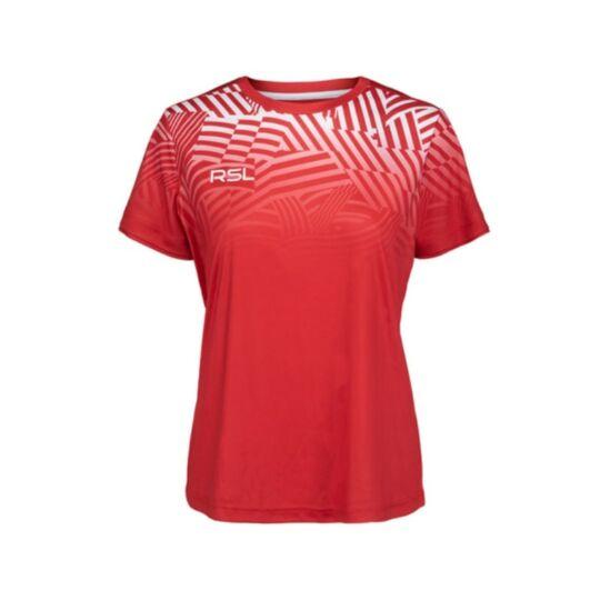 RSL Frigg W női tollaslabda, squash póló (piros)