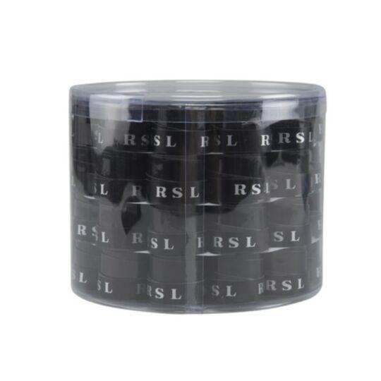 RSL tollaslabda, squash fedőgrip doboz - 60 db (fekete)