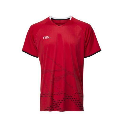 RSL Sierra férfi tollaslabda, squash póló (piros)
