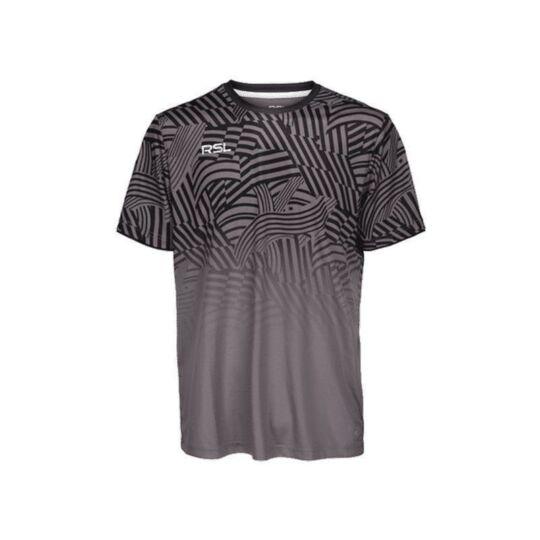 RSL Titan férfi tollaslabda, squash póló (szürke)