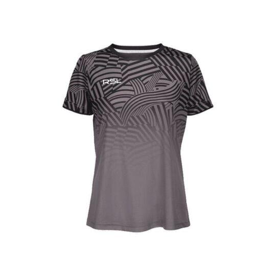 RSL Titan W női tollaslabda, squash póló (szürke)