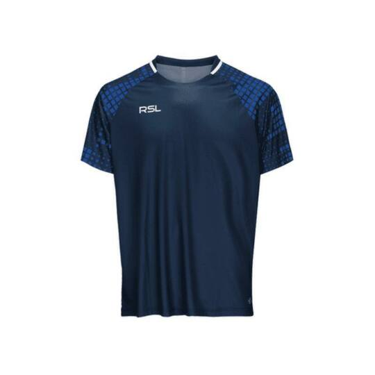 RSL Xenon gyerek tollaslabda, squash póló (sötétkék)