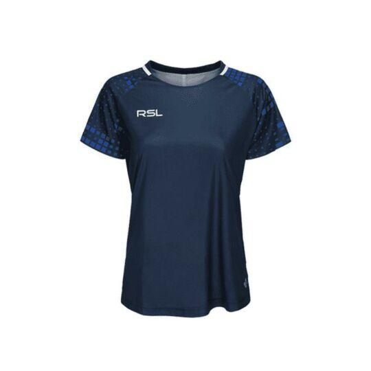 RSL Xenon W női tollaslabda, squash póló (sötétkék)