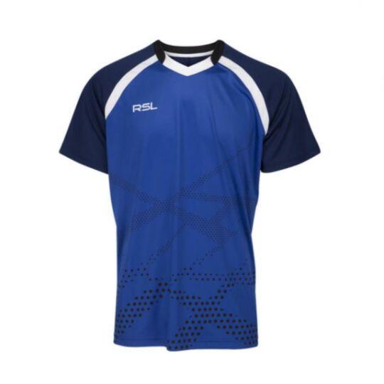 RSL Xray férfi tollaslabda, squash póló (sötétkék)