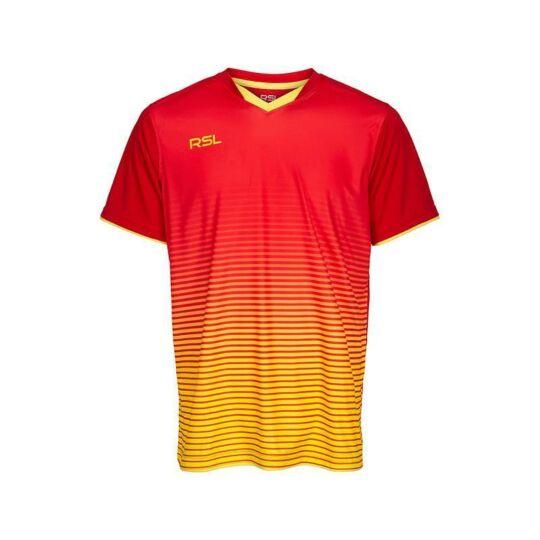 RSL Yendi férfi tollaslabda, squash póló (piros)