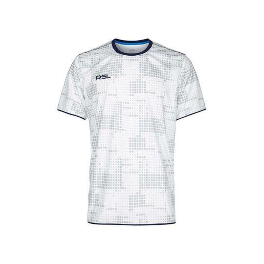 RSL Zink férfi tollaslabda, squash póló (fehér)