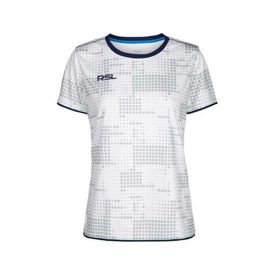 RSL Zink W női tollaslabda, squash póló (fehér)