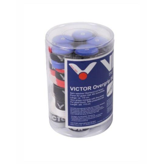 Victor 06 tollaslabda, squash fedőgrip doboz - 25 darab (színes)