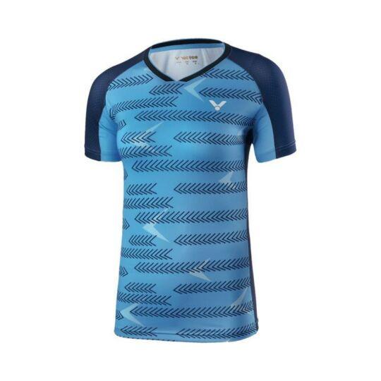 Victor International 6649 női tollaslabda, squash póló (kék)