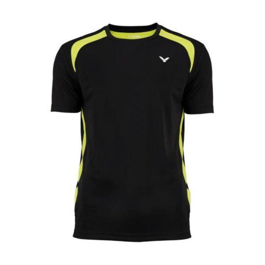 Victor Function 6949 gyerek tollaslabda, squash póló (fekete)