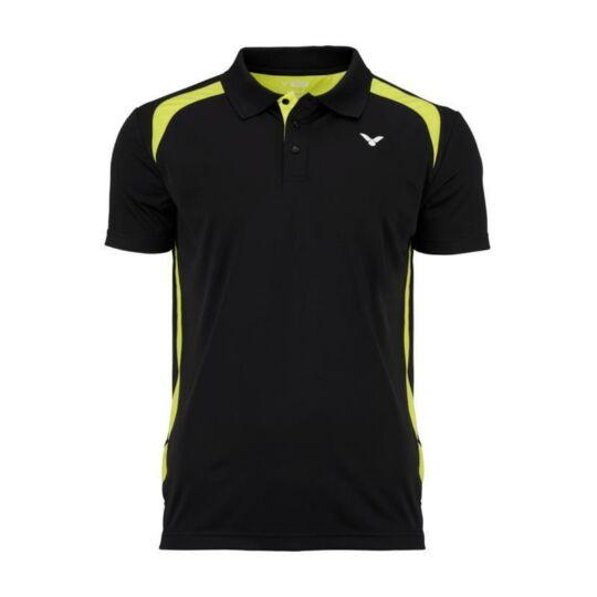 Victor Function 6959 gyerek tollaslabda, squash póló (fekete)