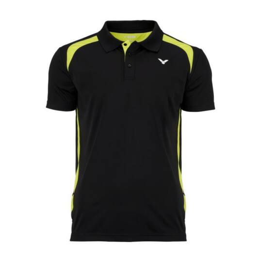 Victor Function 6959 férfi tollaslabda, squash galléros póló (fekete)