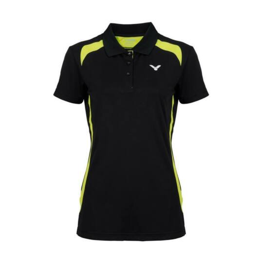 Victor Function 6969 női tollaslabda, squash galléros póló (fekete)