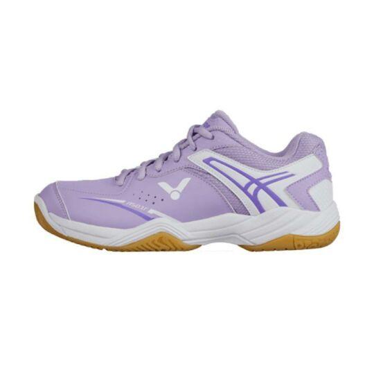 Victor A501F gyerek tollaslabda cipő, squash cipő (lila)