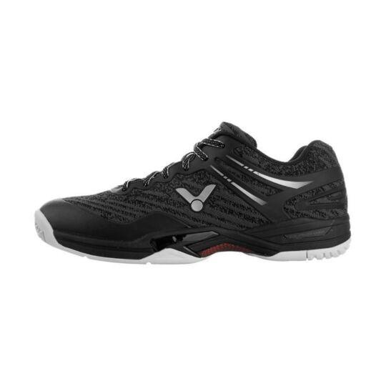 Victor A922 gyerek tollaslabda cipő, squash cipő (fekete)