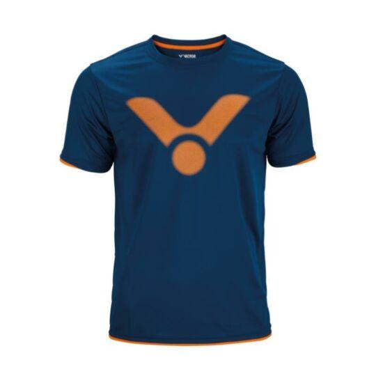 Victor 6488 férfi tollaslabda, squash póló (kék)