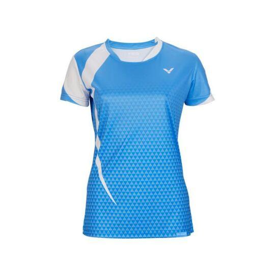 Victor T-04102 M női tollaslabda, squash póló (világoskék)