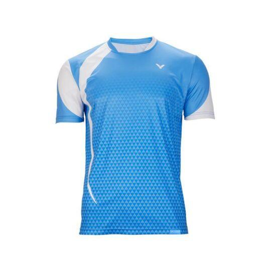 Victor T-03102 M gyerek tollaslabda, squash póló (világoskék)