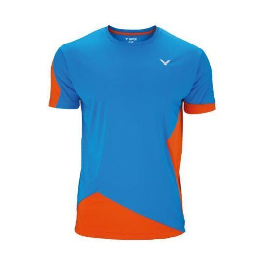 Victor Function 6108 gyerek tollaslabda, squash póló (narancssárga-kék)