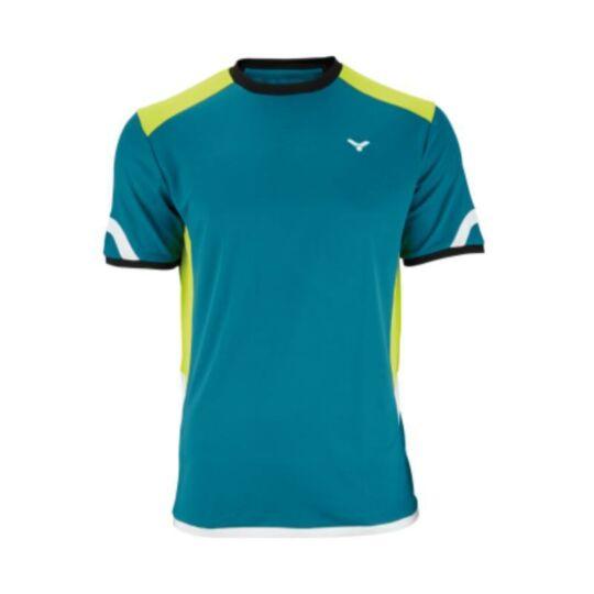 Victor Function 6707 férfi tollaslabda, squash póló (zöld)