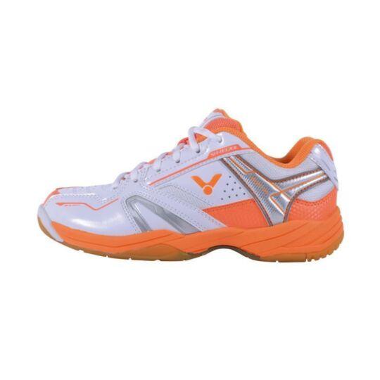 Victor SH-A320L női tollaslabda cipő, squash cipő (fehér-narancssárga)