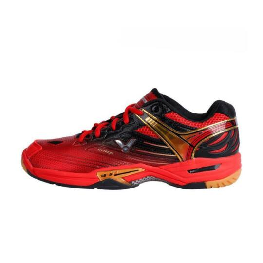 Victor SH-A920 gyerek tollaslabda cipő, squash cipő (piros)