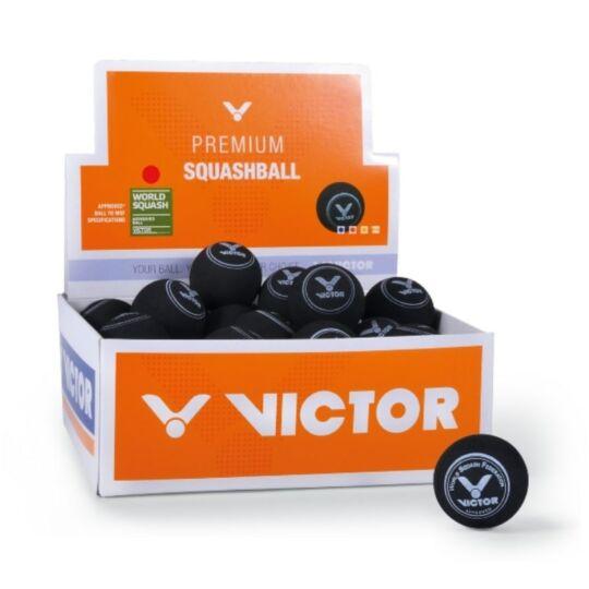 Victor squash labda doboz - 36 darab (piros pöttyös)