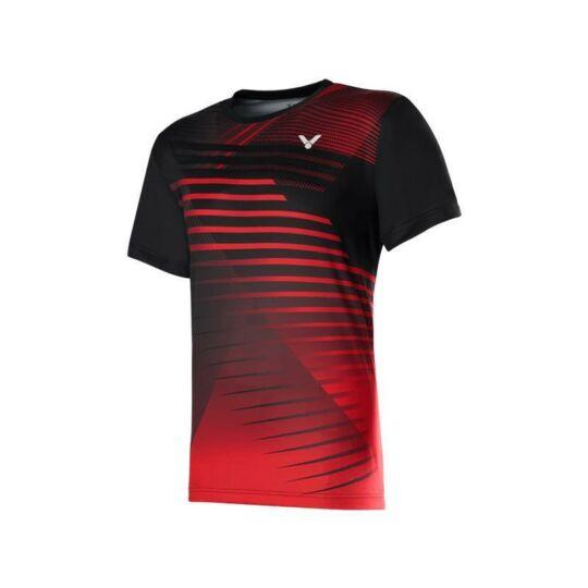 Victor T-00001TD C férfi tollaslabda, squash póló (vörös)