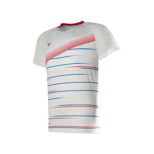 Victor T-00003 A férfi tollaslabda, squash póló (fehér)