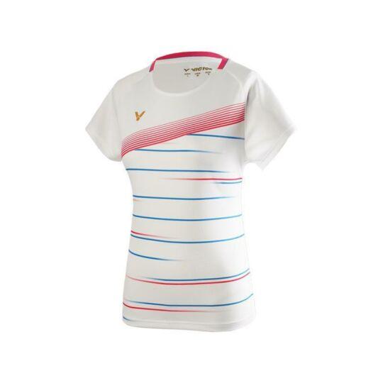 Victor T-01003 A női tollaslabda, squash póló (fehér)