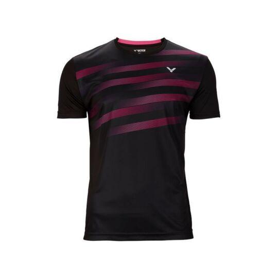 Victor T-03101 C férfi tollaslabda, squash póló (fekete)